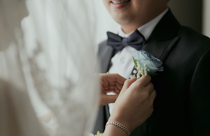 The Romance Wedding of Albert & Erissa by Khayim Beshafa One Stop Wedding - 007