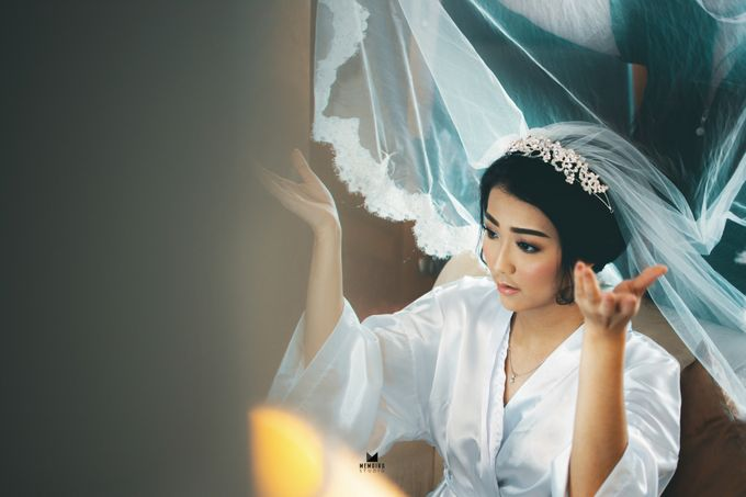 Wedding Day of Adi & Selda by Louise Bridal - 006