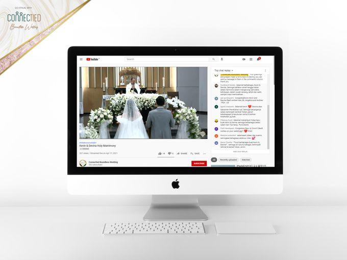 Kevin & Devina - Digital Invitation / Undangan Digital Connectied v2.0 + Live Streaming by Connectied Virtual Wedding - 006