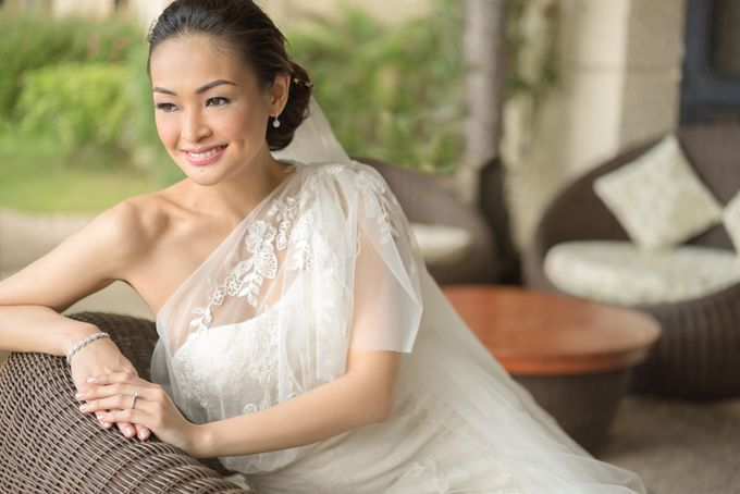 A relaxed wedding of Jose and Golda in Punta Fuego by Jiggie Alejandrino Wedding Photographs - 004