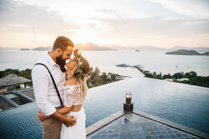 Abbey & Justin by Take us to Thailand - 016
