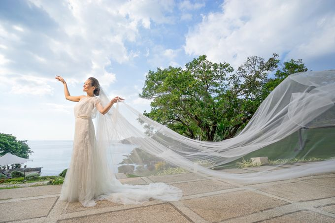 A relaxed wedding of Jose and Golda in Punta Fuego by Jiggie Alejandrino Wedding Photographs - 005