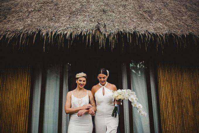 Jeanne & James Bali Wedding by SÁL PHOTO - 023