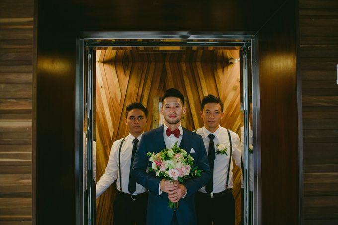 RUSTIC WEDDING DAVID AND JOICE IN SKY AYANA BALI by W organizer - 011