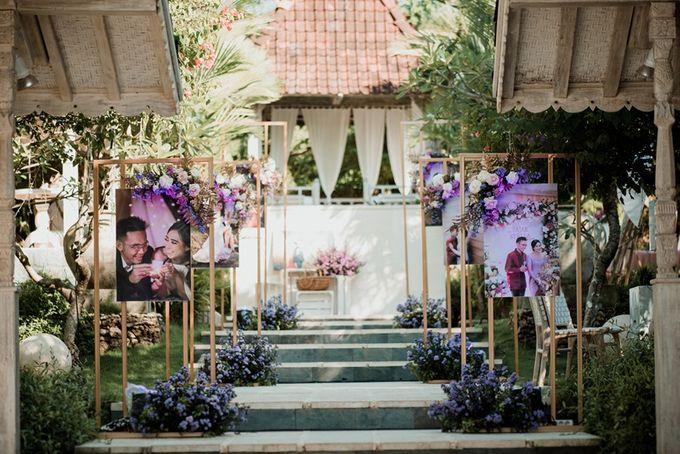 Soft Purple & Lavender Decoration Wedding by Bali Izatta Wedding Planner & Wedding Florist Decorator - 012