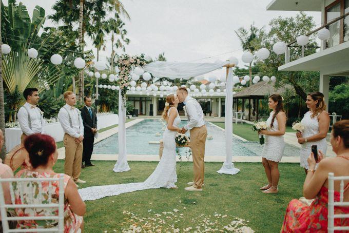 Wedding at Villa Kalyani in Canggu by Bali Tie d' Knot - 011