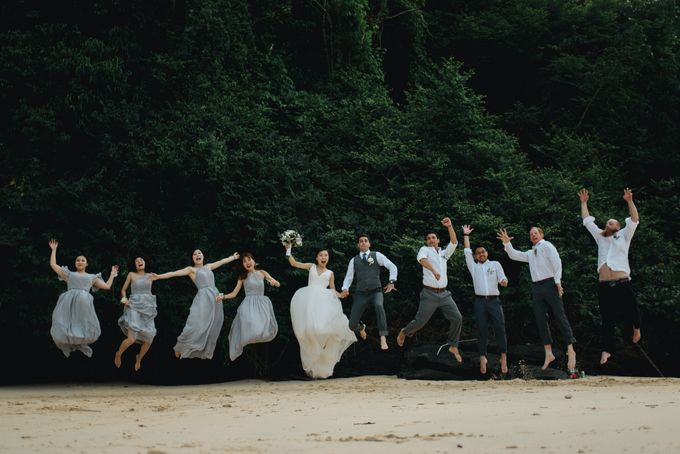 Zoe and Greg Phuket Wedding by Terralogical - 016