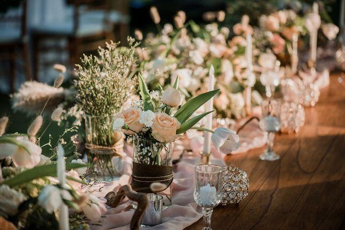 Rustic Decoration by Bali Izatta Wedding Planner & Wedding Florist Decorator - 007