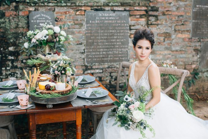 RUSTIC GRAZING TABLE by Bloc Memoire Photography - 003