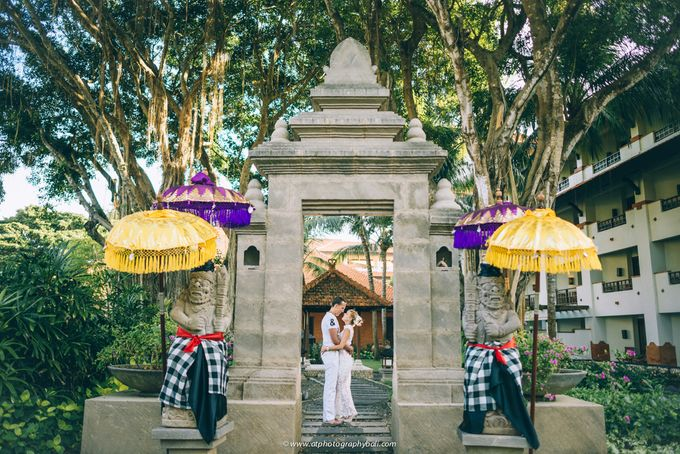 Melodie & Damien - Honeymoon in Bali by AT Photography Bali - 007