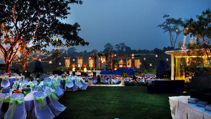 Wedding at On Green by Raffles Hills Cibubur - On Green Garden Venue - 016
