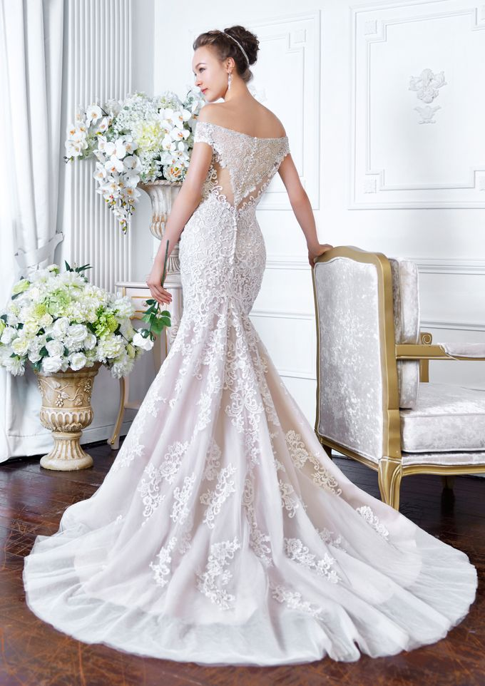 Orchid Wedding Gown Collection by Digio Bridal - 006