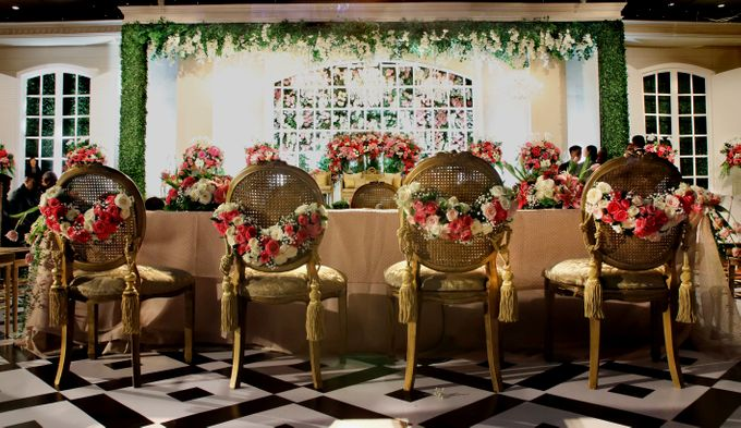 The wedding of Aby and Arsila by Amarillis Floral and Party Decorator - 002