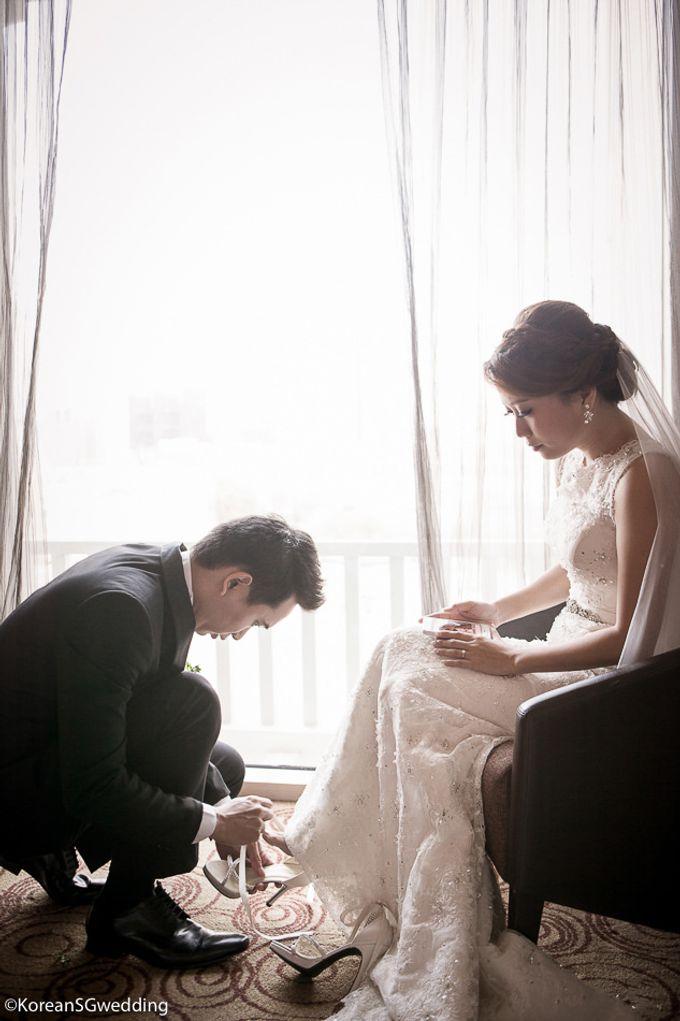 THET NAING SOE + ZIN MYO HTET Actual wedding by Eric Oh  Korean Photographer - 007