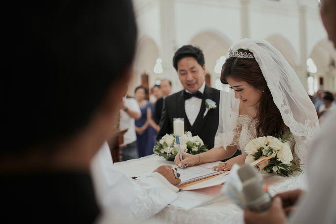 The Romance Wedding of Albert & Erissa by Khayim Beshafa One Stop Wedding - 008