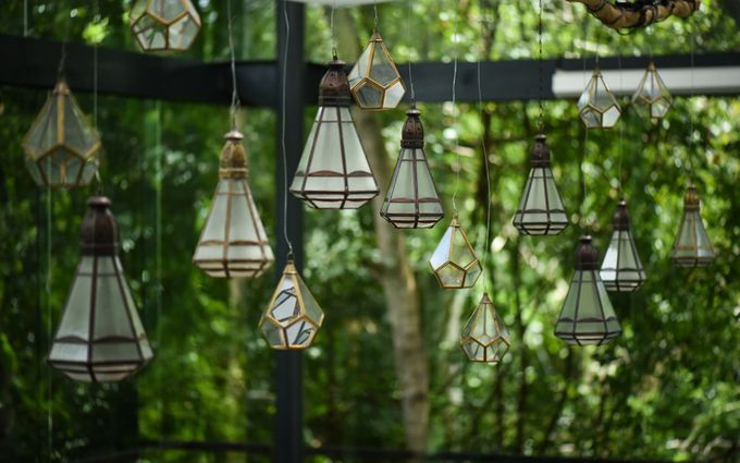 Minangkabau Traditional wedding set up at The Glass House by Tirtha Bridal - 007
