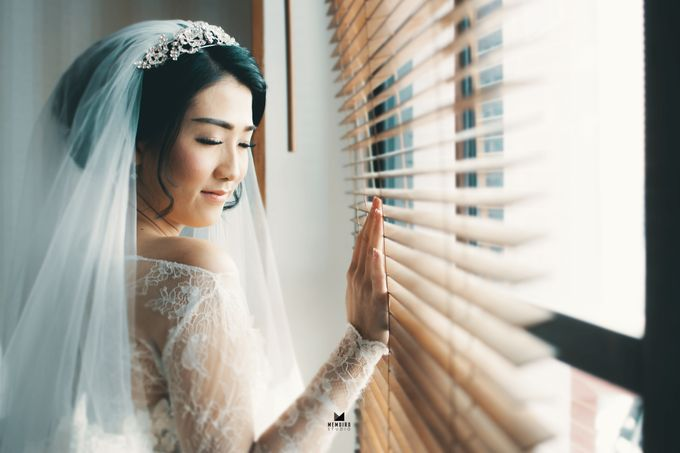 Wedding Day of Adi & Selda by Louise Bridal - 007