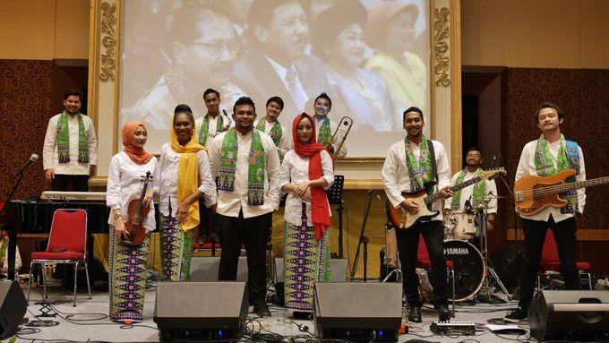 Big Band for The Wedding of Nadia & Atria at Sasana Kriya TMII by La Oficio Entertainment - 001
