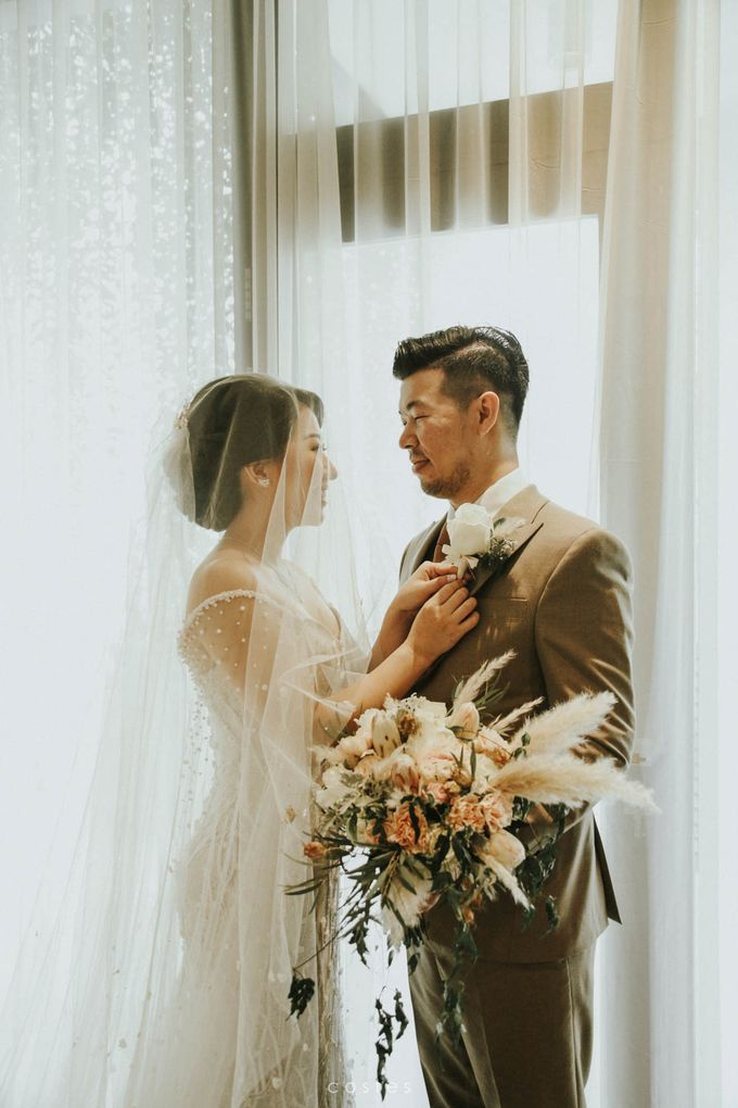 The Wedding of Carin & Stephen by Costes Portrait - 019