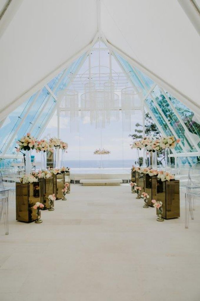 The Wedding of Larrie & Vivienne by BDD Weddings Indonesia - 007