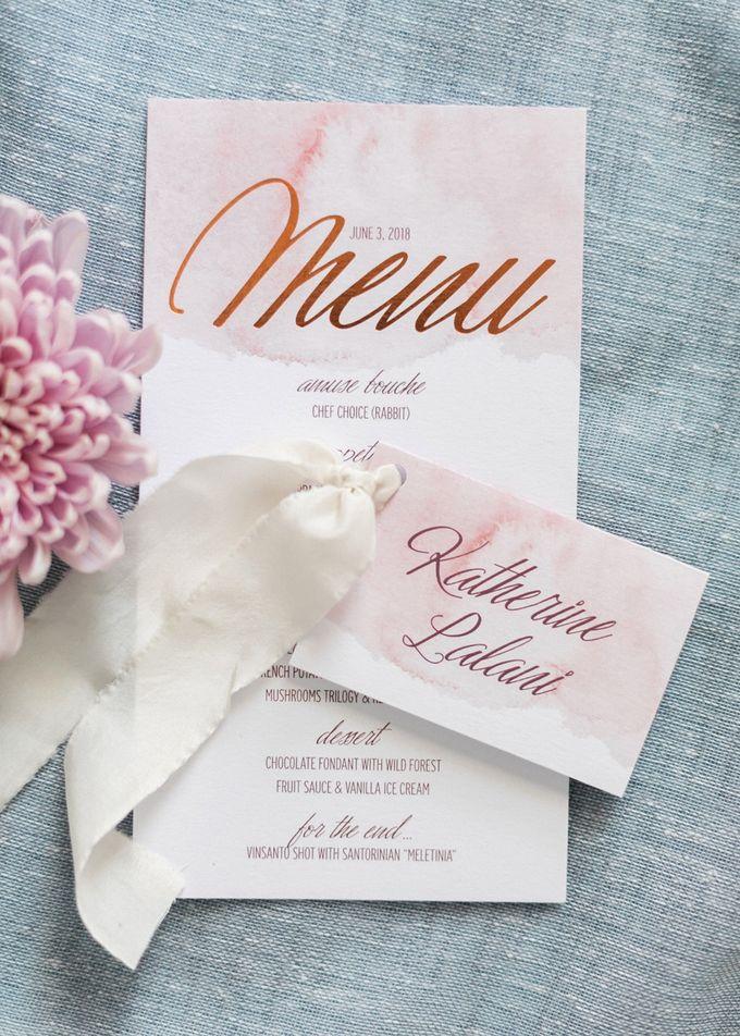 Dusty Pink Dream Wedding in Santorini by Stella & Moscha Weddings - 004