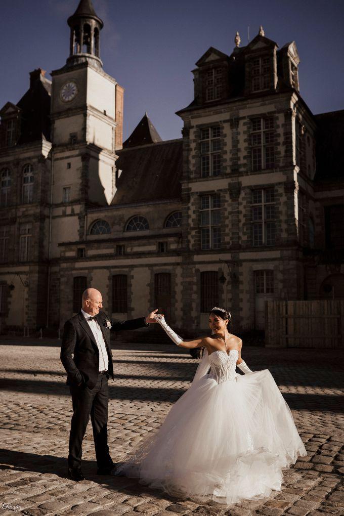Exclusive Paris Pre Wedding Photo Shoot at Château de Fontainebleau by Février Photography   Paris Photographer - 020