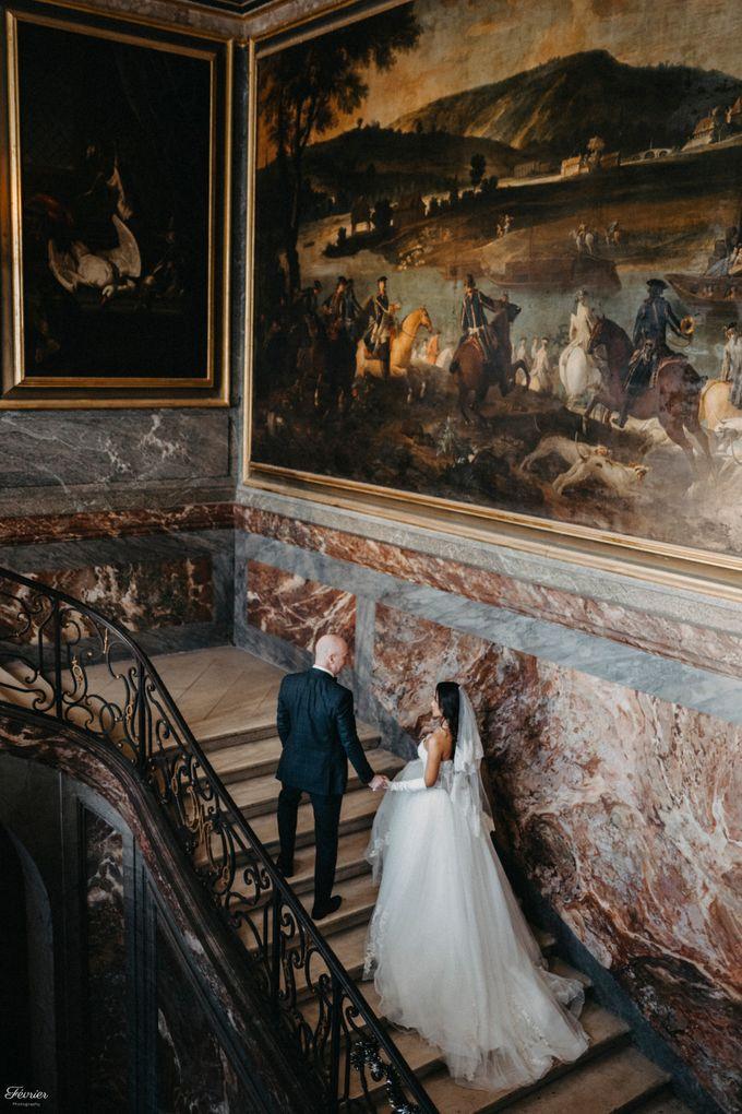 Exclusive Paris Pre Wedding Photo Shoot at Château de Fontainebleau by Février Photography   Paris Photographer - 001