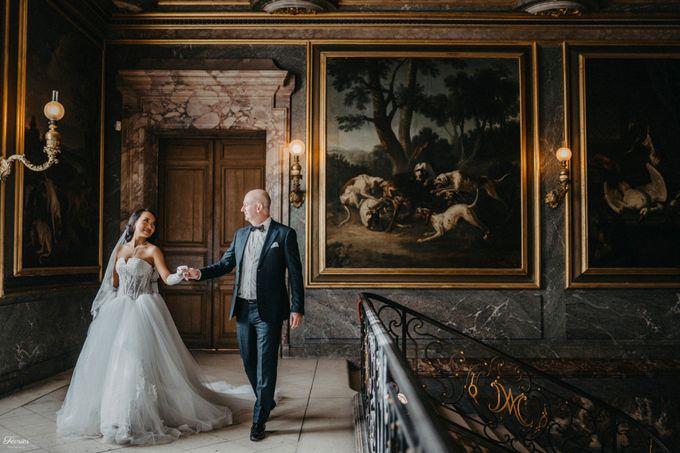 Exclusive Paris Pre Wedding Photo Shoot at Château de Fontainebleau by Février Photography   Paris Photographer - 008