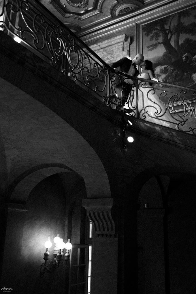 Exclusive Paris Pre Wedding Photo Shoot at Château de Fontainebleau by Février Photography   Paris Photographer - 018