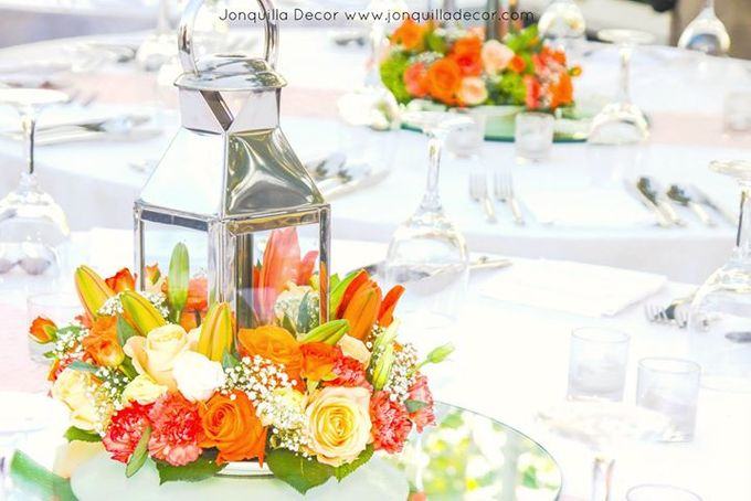 The Shade of Sunset Wedding by Jonquilla Decor - 004