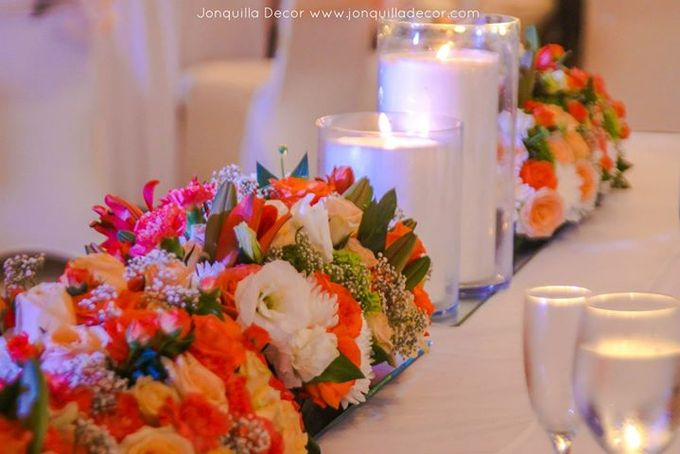 The Shade of Sunset Wedding by Jonquilla Decor - 007