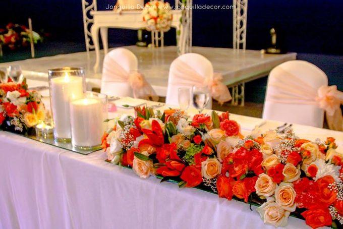 The Shade of Sunset Wedding by Jonquilla Decor - 008