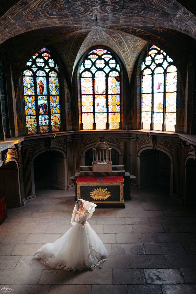 Exclusive Paris Pre Wedding Photo Shoot at Château de Fontainebleau by Février Photography   Paris Photographer - 010