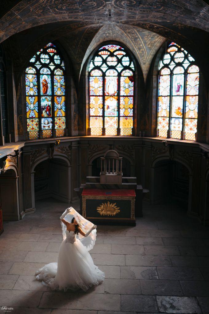 Exclusive Paris Pre Wedding Photo Shoot at Château de Fontainebleau by Février Photography   Paris Photographer - 011