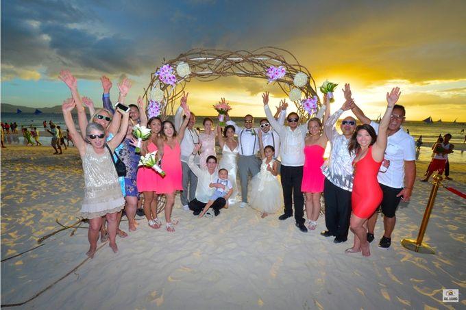Wedding Bells in tropical Island by #1 Boracay Wedding Photographer - Joel Juliano - 019