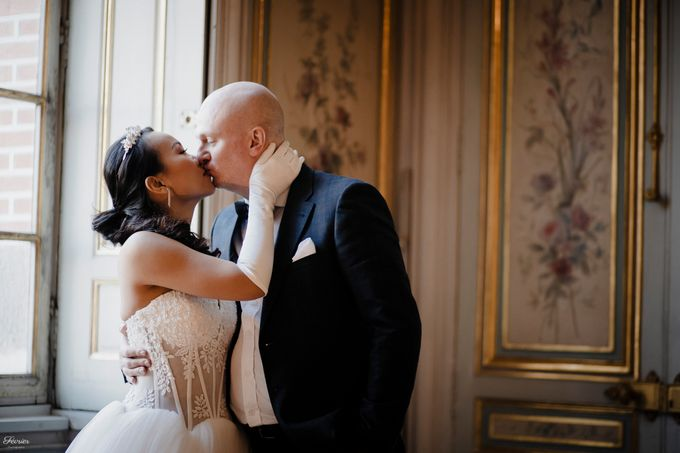 Exclusive Paris Pre Wedding Photo Shoot at Château de Fontainebleau by Février Photography   Paris Photographer - 027
