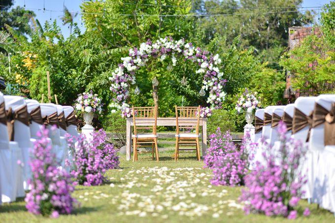 Purple Wedding by Mira Mi Bali Wedding - 003