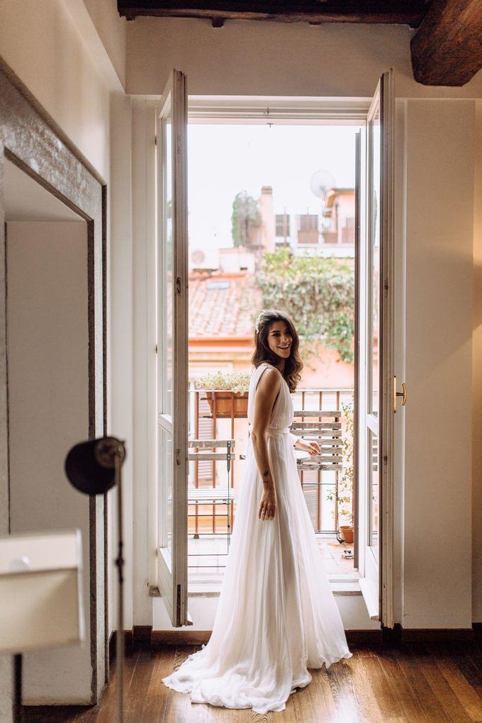 Wedding in Historical castel in Rome, Castello di Tor Crescenza by Vera Weddings - 008