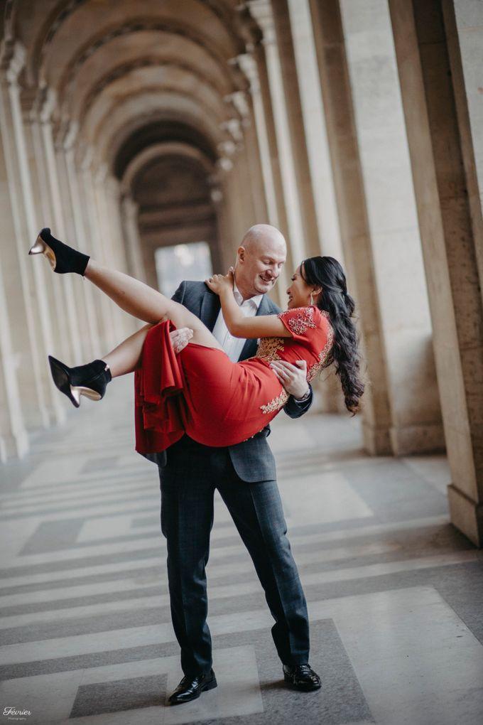 Exclusive Paris Pre Wedding Photo Shoot at Château de Fontainebleau by Février Photography   Paris Photographer - 037