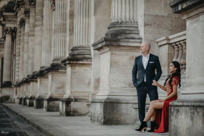 Exclusive Paris Pre Wedding Photo Shoot at Château de Fontainebleau by Février Photography   Paris Photographer - 036