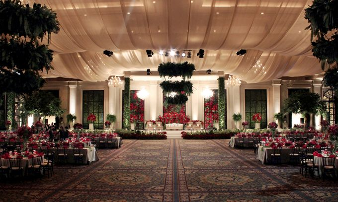 John and Xuan Wei Wedding Reception by Amarillis Floral and Party Decorator - 001