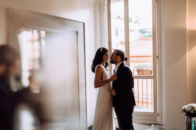 Wedding in Historical castel in Rome, Castello di Tor Crescenza by Vera Weddings - 011