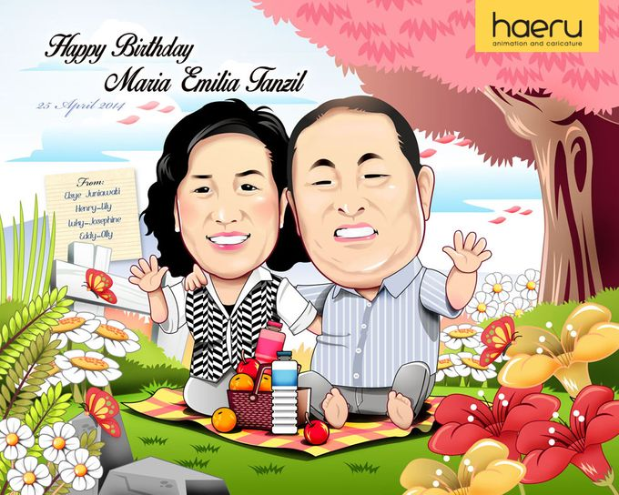 Premium Caricature for Gift by haeru Animation and Caricature - 003