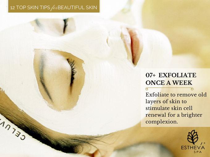 Top 12 Skincare Tips for Beautiful and Younger Skin by ESTHEVA Spa - 008