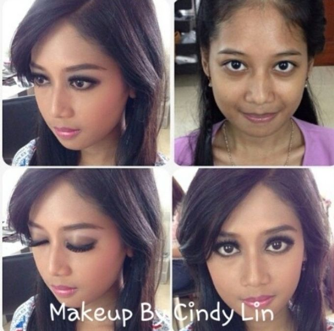Wedding and party by Cindy Lin makeup and airbrush makeup artist - 004