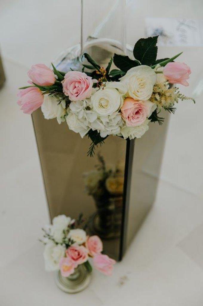 The Wedding of Larrie & Vivienne by BDD Weddings Indonesia - 008