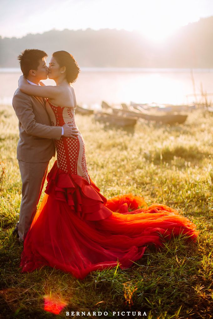 Prewedding of David and Any by eline - 001
