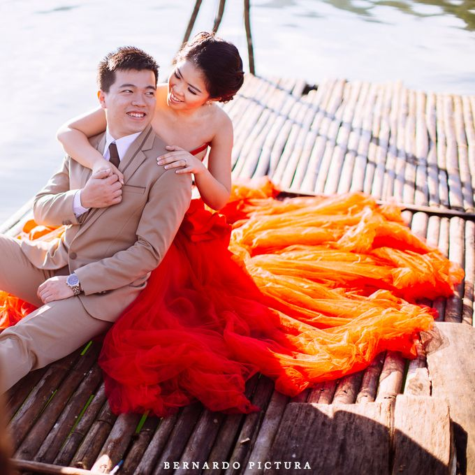 Prewedding of David and Any by eline - 003