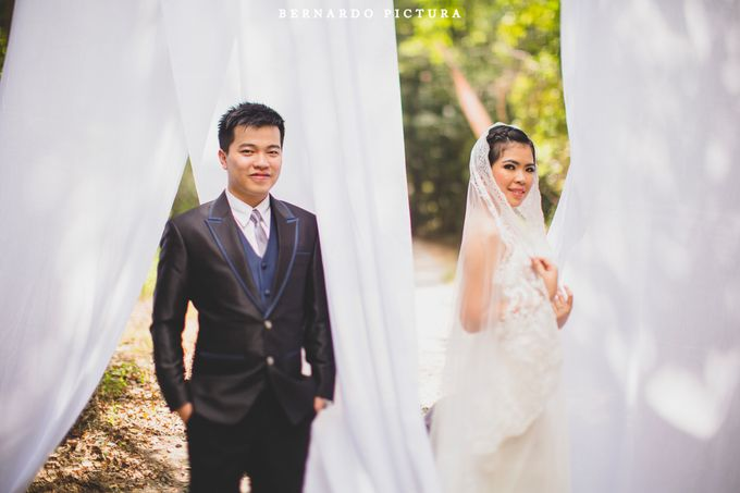 Prewedding of David and Any by eline - 005