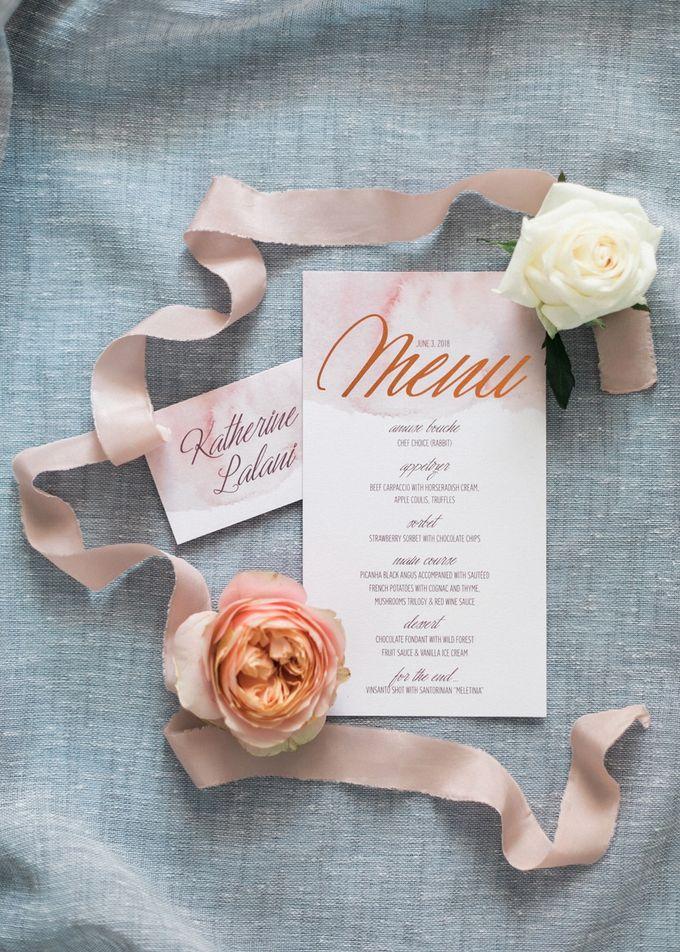Dusty Pink Dream Wedding in Santorini by Stella & Moscha Weddings - 005
